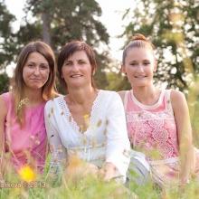 Marcela s dcerami